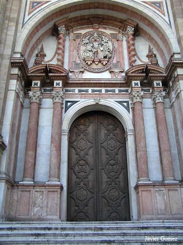 Catedral de Málaga - pórtico