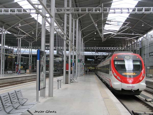 Estación de tren de María Zambrano