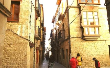 Casco urbano de Laguardia
