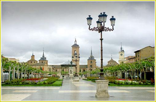 Alcala de Henares, entre cigüeñas y Cervantes