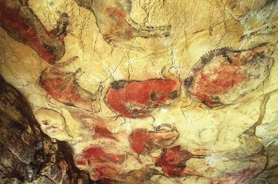 Las Cuevas de Altamira en Santillana del Mar