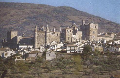 El Monasterio de Guadalupe en Caceres