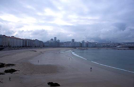 A Coruña, la ciudad de cristal