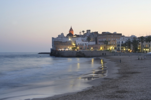 Sitges, la Playa de Oro del Mediterraneo