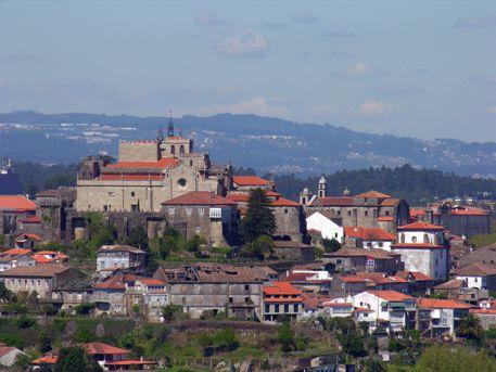 El pueblo de Tuy en Pontevedra