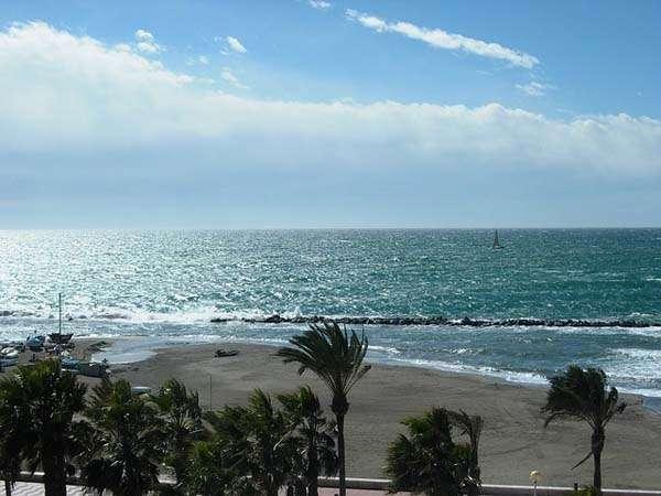Playas en las costas de Almería