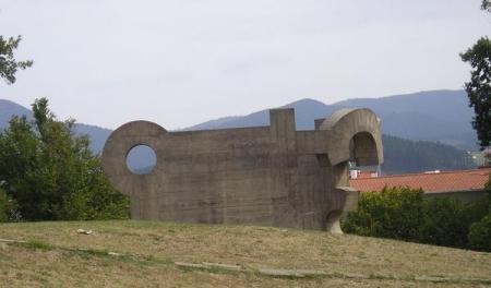 Obra de Chillida en Gernika