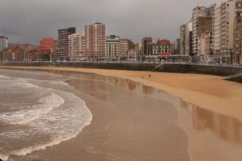 Gijon, el encanto de los colores asturianos