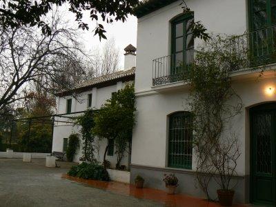 La ruta lorquiana en granada for Huerta de san vicente muebles