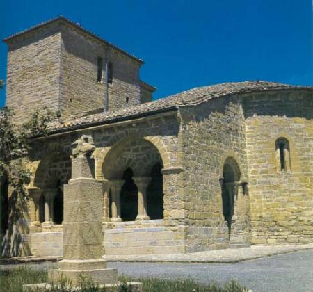 Iglesia porticada de Gazolaz