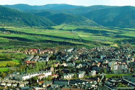 Los Pirineos desde Jaca