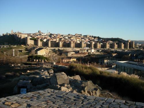 Avila, la muralla de Santa Teresa