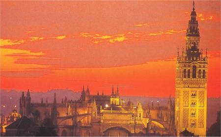 La Giralda y los Reales Alcazares de Sevilla