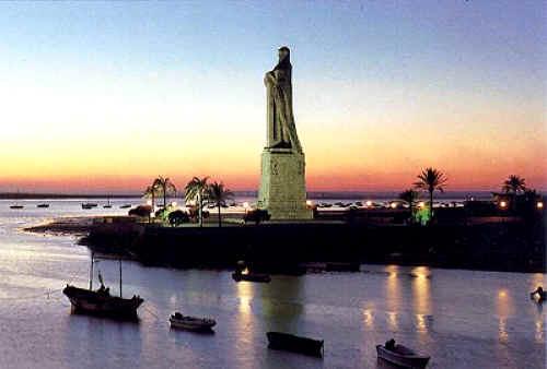 Huelva, Monumento a los Descubrimientos
