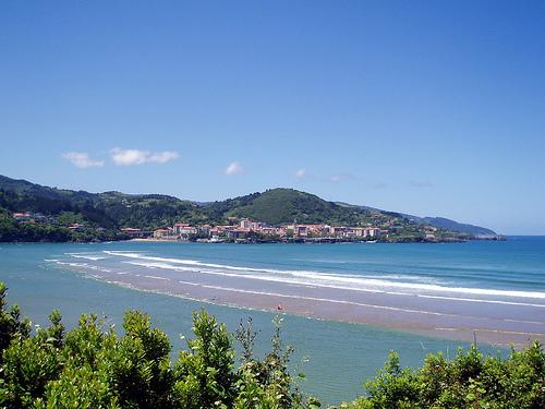 Mundaka y las playas de Laida y Laga