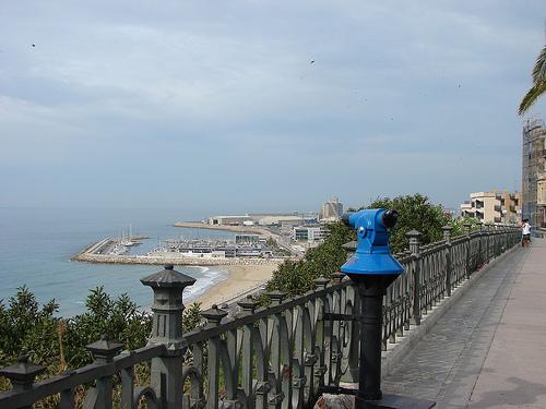 Playa del Milagro desde el Balcón del Mediterráneo