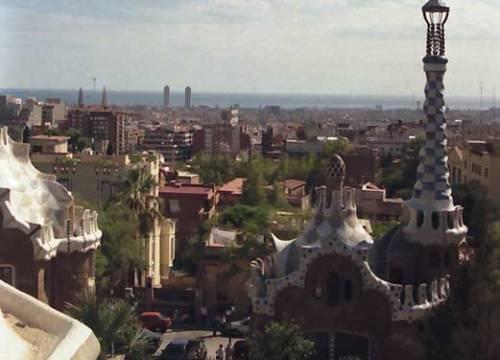 Barcelona, el lienzo de Gaudi