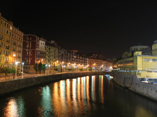 Bilbao y su ria