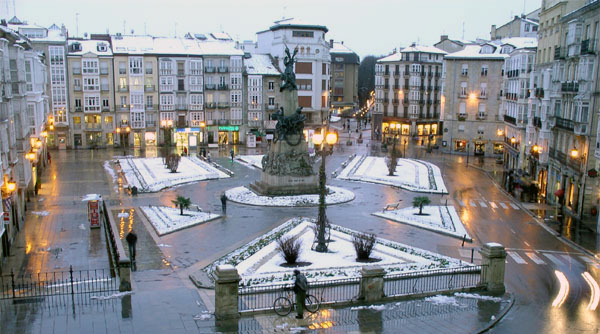 Vitoria, la ciudad de la Virgen Blanca