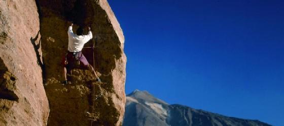 Escalada al Arico