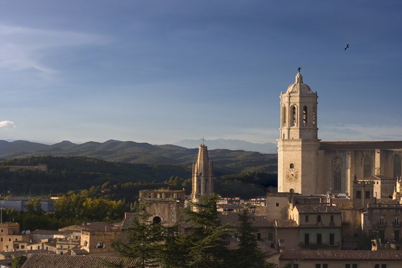Girona desde la muralla