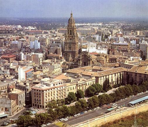 Vista de Murcia