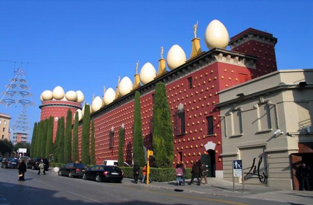 Figueras, Teatro-Museo Dali y el surrealismo