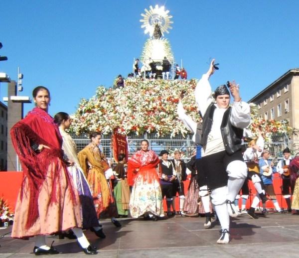 Zaragoza, las Fiestas del Pilar