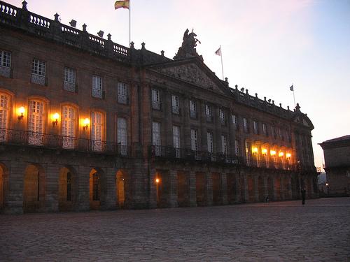 Palacio de Rajoy en Santiago de Compostela