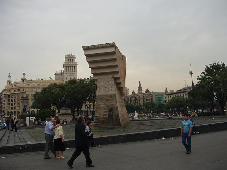 Barcelona, pequeñas compras en el centro