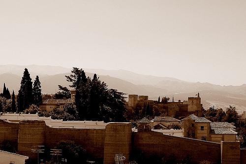 La Alhambra desde el Mirador de San Cristóbal