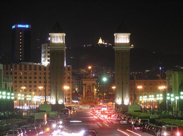 Noche en Barcelona