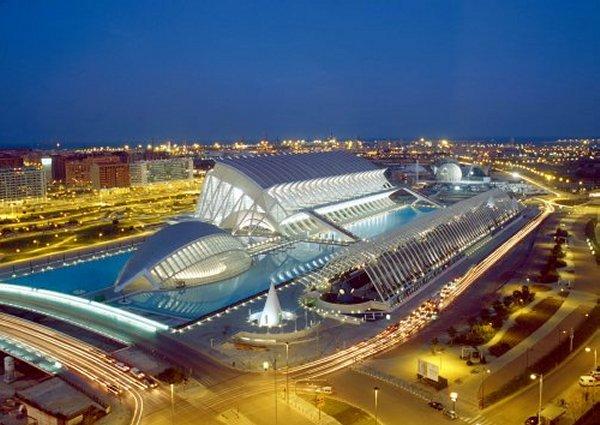 La Ciudad de las Artes y las Ciencias en Valencia