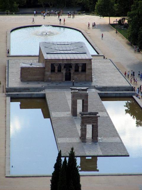 Vista del Templo de Debod
