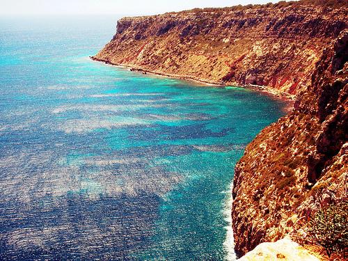Vistas desde el faro de Formentera