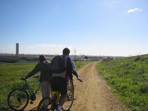 La Via Verde de Italica en Sevilla