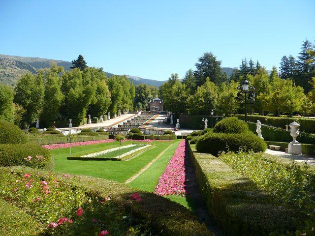 La Granja de San Ildefonso en Segovia