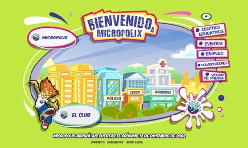 Micropolix, una ciudad sólo para niños