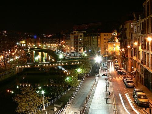 Vida nocturna en Bilbao
