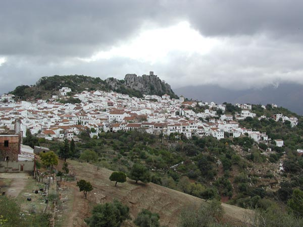 Gaucín, la blancura de la Sierra de Ronda