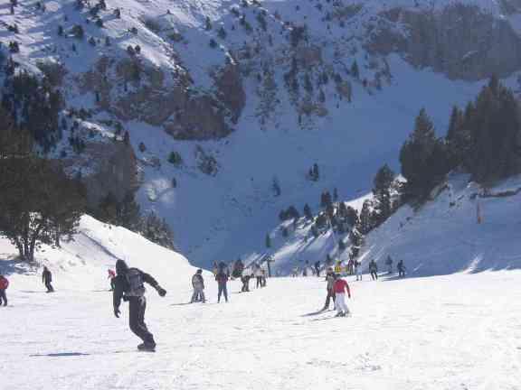 La Masella, esquiando en familia