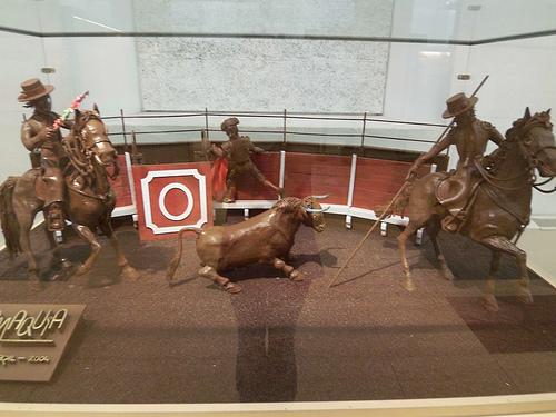 Corrida de toros de chocolate en el Museo de Barcelona