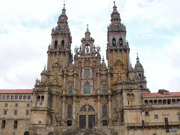 Las 10 catedrales m s interesantes de espa a - Santiago de compostela arquitectura ...