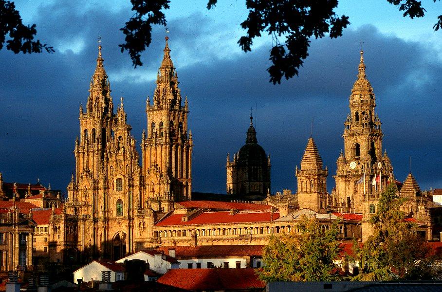 Vista de Santiago de Compostela