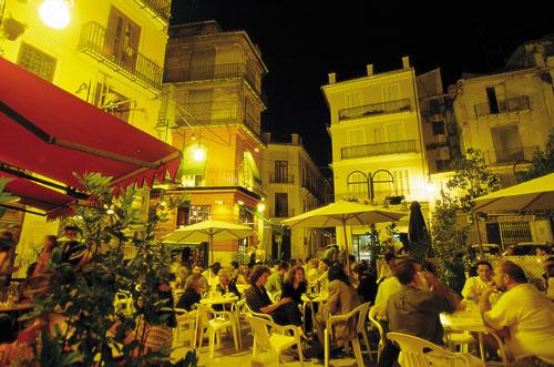 Vida nocturna en Valencia