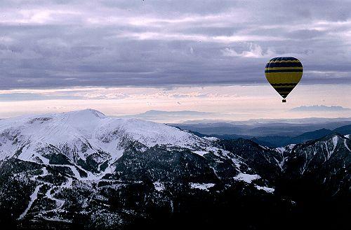 En globo desde Alp