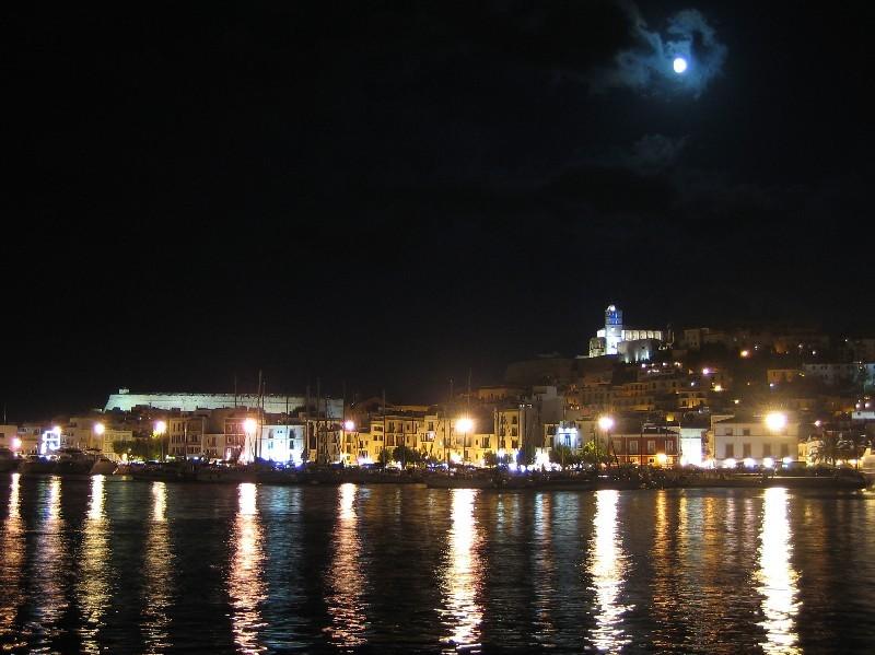 La noche en Ibiza