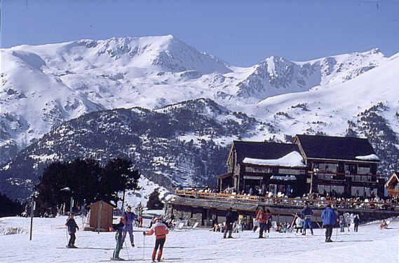 Lugares para esquiar en Andorra