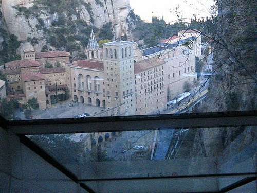 Funicular Monasterio Montserrat