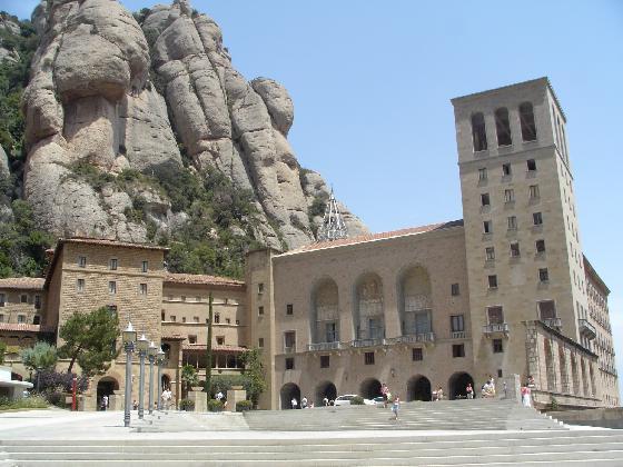 El Monasterio de Montserrat en Barcelona
